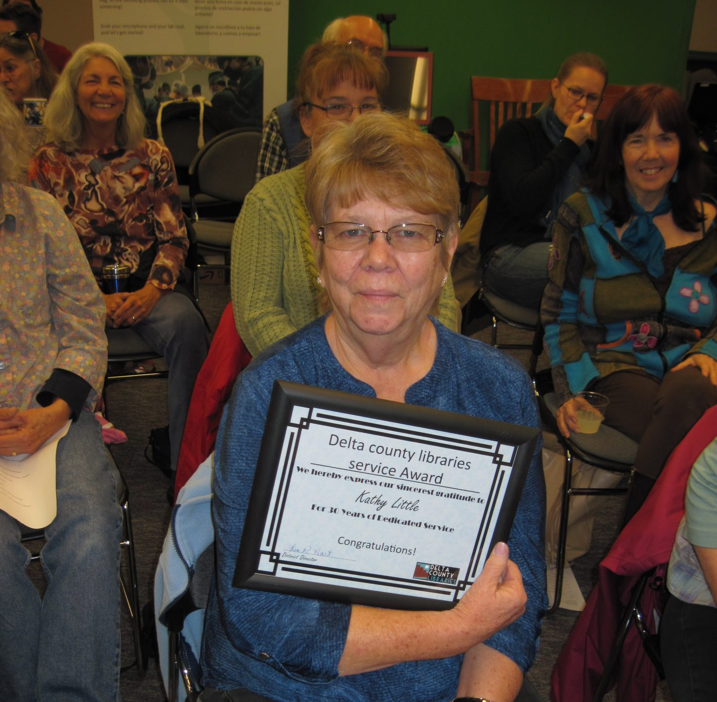 Little retires after 36 years of service at Crawford Library
