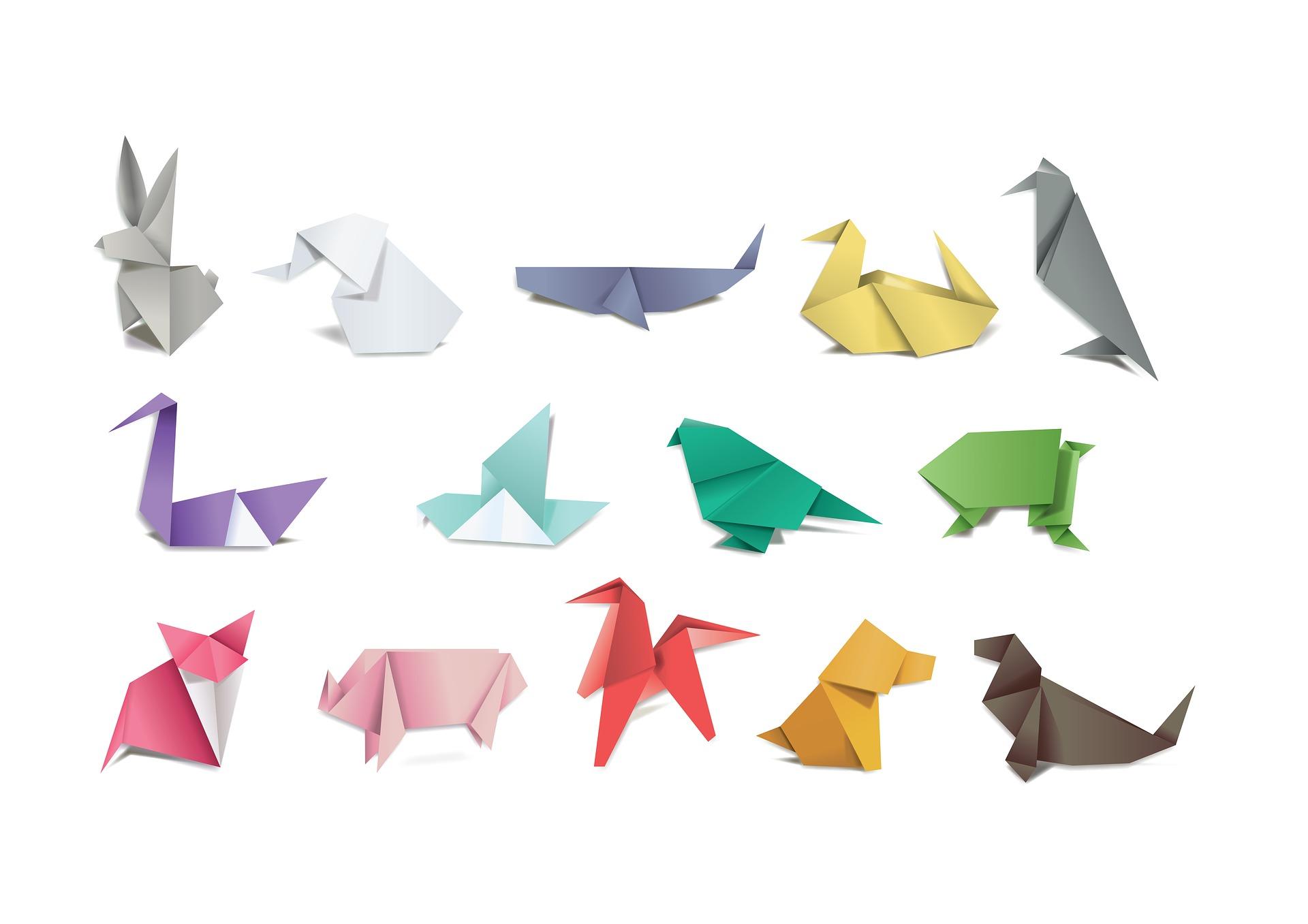 Origami animals