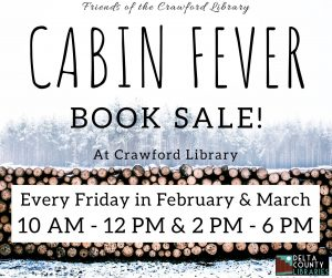 Cabin Fever Book Sale